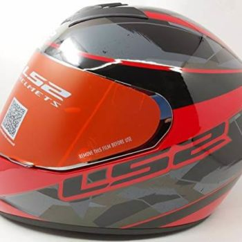 LS2 FF352 Rookie Recruit Gloss Black Red Full Face Helmet