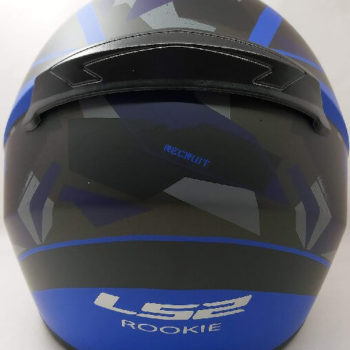 LS2 FF352 Rookie Recruit Matt Black Blue Full Face Helmet 1