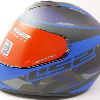 LS2 FF352 Rookie Recruit Matt Black Blue Full Face Helmet
