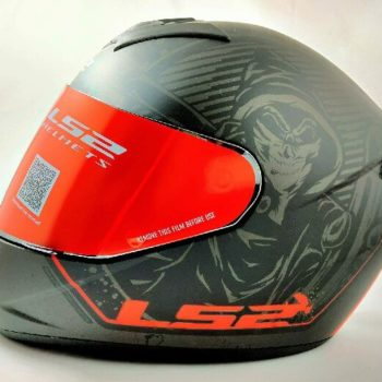 LS2 FF352 Rookie Street Matt Black Grey Full Face Helmet