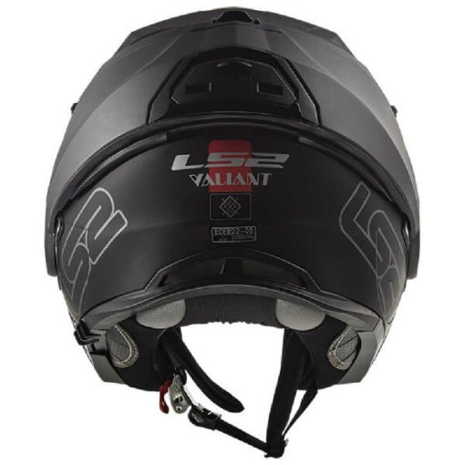 LS2 FF399 Valiant Prox Matt Black Titanium Flip Up Helmet 1