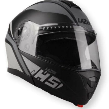 Lazer MH5 Light Matt Grey Fluorescent Yellow Flip Up Helmet