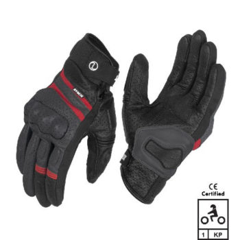 Rynox Air GT Motorsports Grey Red Riding Gloves 2020