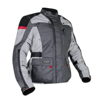 Rynox Stealth Evo V3 L2 Grey Riding Jacket 2020