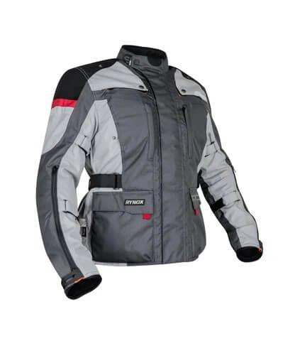 Rynox Stealth Evo V3 L2 Grey Riding Jacket 2020