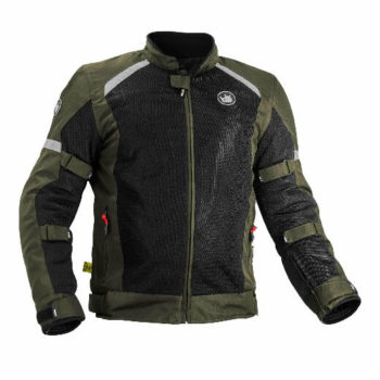 Rynox Urban Battle Green Riding Jacket 2020