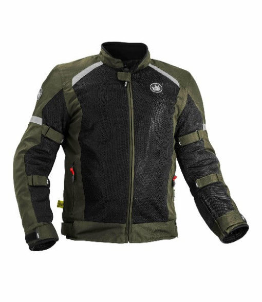 Rynox Urban Battle Green Riding Jacket 2020