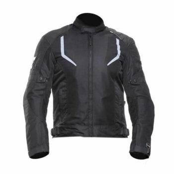 Zeus Raptor V3 Smart Black Riding Jacket