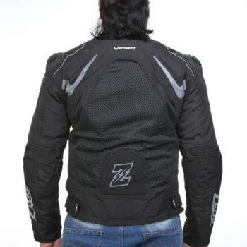 Zeus Viper Smart Black Riding Jacket 1