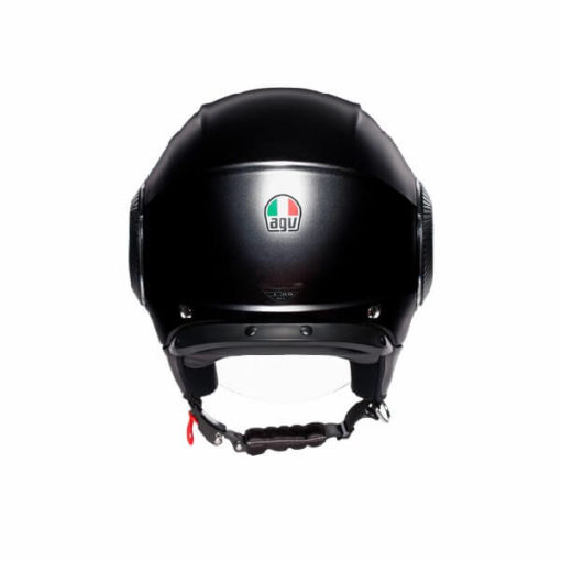 AGV Orbyt Solid Matt Black Open Face Helmet 1