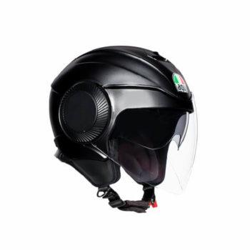 AGV Orbyt Solid Matt Black Open Face Helmet