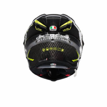 AGV Pista GP R Project 46 3.0 Carbon Matt Black Green Full Face Helmet 1