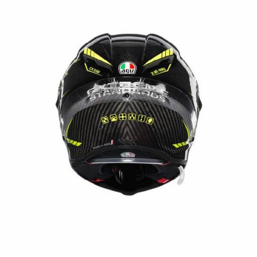 AGV Pista GP R Project 46 3.0 Carbon Matt Black Green Full Face Helmet 1
