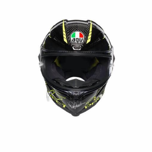 AGV Pista GP R Project 46 3.0 Carbon Matt Black Green Full Face Helmet 2