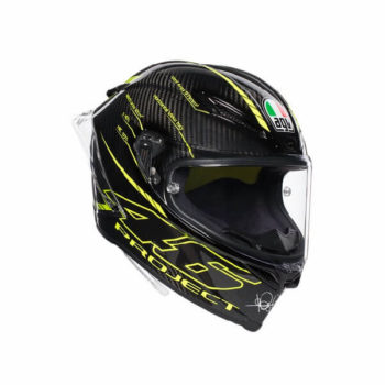 AGV Pista GP R Project 46 3.0 Carbon Matt Black Green Full Face Helmet