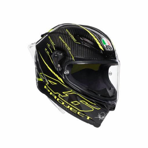 AGV Pista GP R Project 46 3.0 Carbon Matt Black Green Full Face Helmet