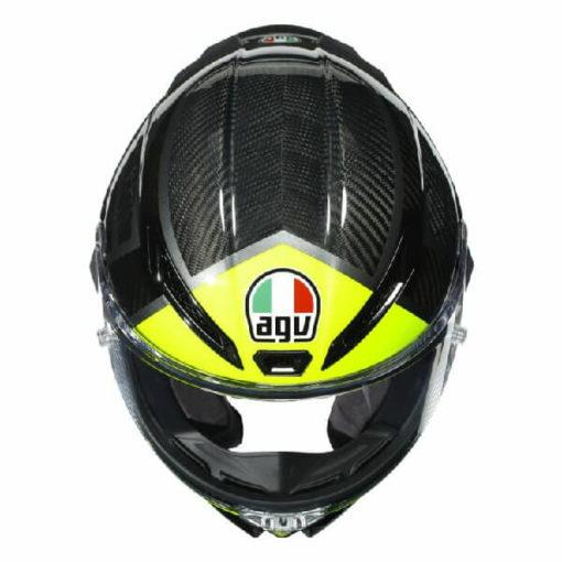 AGV Pista GP RR Essenza 46 Matt Black Yellow Full Face Helmet 2
