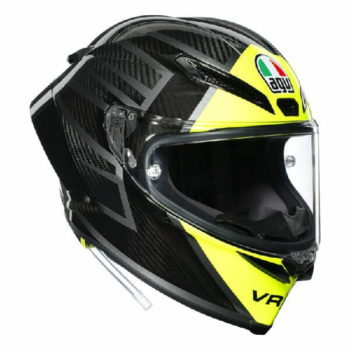 AGV Pista GP RR Essenza 46 Matt Black Yellow Full Face Helmet