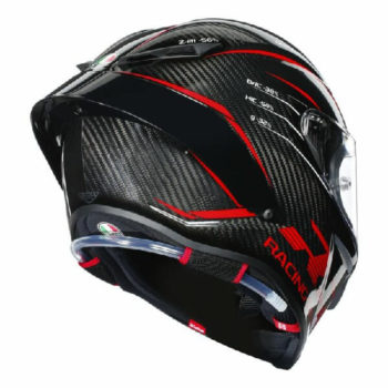 AGV Pista GP RR Performance Matt Carbon Red Full Face Helmet 1