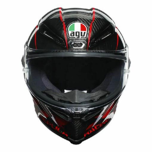 AGV Pista GP RR Performance Matt Carbon Red Full Face Helmet 2