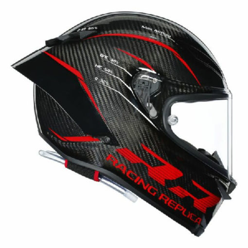 AGV Pista GP RR Performance Matt Carbon Red Full Face Helmet 3