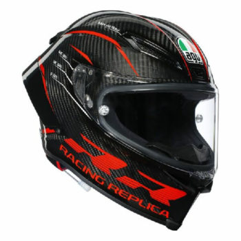 AGV Pista GP RR Performance Matt Carbon Red Full Face Helmet