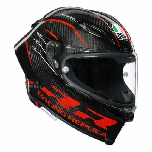 AGV Pista GP RR Performance Matt Carbon Red Full Face Helmet