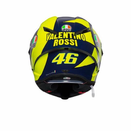 AGV Pista GP RR Soleluna 2019 Matt Black Yellow Full Face Helmet 1