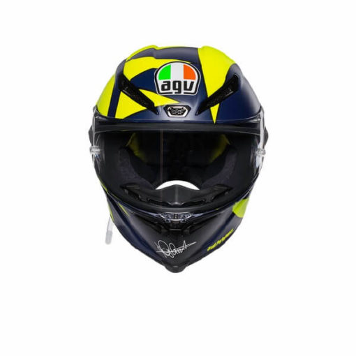 AGV Pista GP RR Soleluna 2019 Matt Black Yellow Full Face Helmet 2