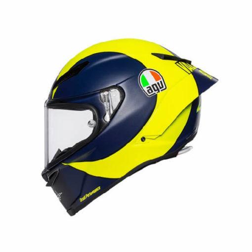 AGV Pista GP RR Soleluna 2019 Matt Black Yellow Full Face Helmet 3