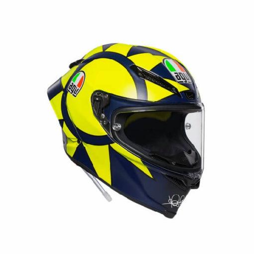 AGV Pista GP RR Soleluna 2019 Matt Black Yellow Full Face Helmet