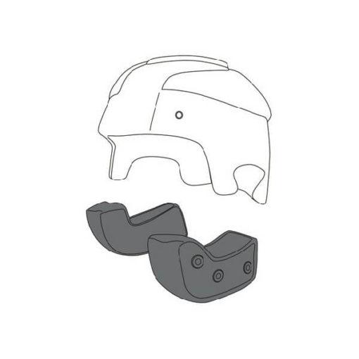 AGV RP 60 Black Cheek Pad 1