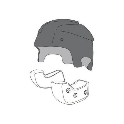 AGV RP 60 Black Crown Pad