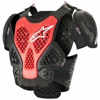 Alpinestars Bionic Black Red Chest Protector 1
