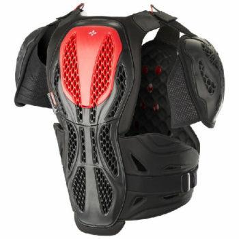 Alpinestars Bionic Black Red Chest Protector 2