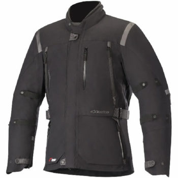 Alpinestars Distance Drystar Black Riding Jacket 1