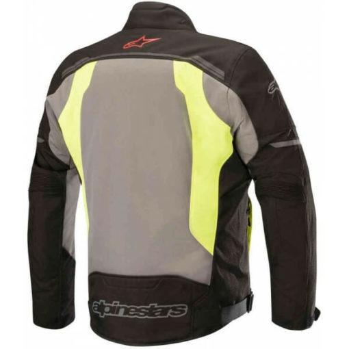 Alpinestars Durango Air Black Dark Grey Fluorescent Yellow Riding Jacket 2020