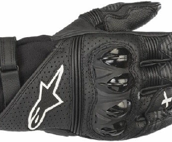Alpinestars GPX V2 Black Riding Gloves