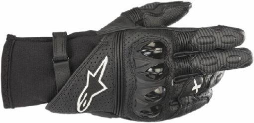 Alpinestars GPX V2 Black Riding Gloves