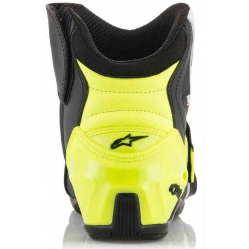 Alpinestars SMX 1 R Black White Yellow Boots 2020 2