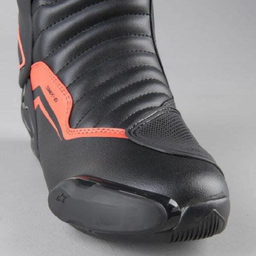 Alpinestars SMX 6 V2 Black Gray Fluorescent Red Riding Boots 2020 1