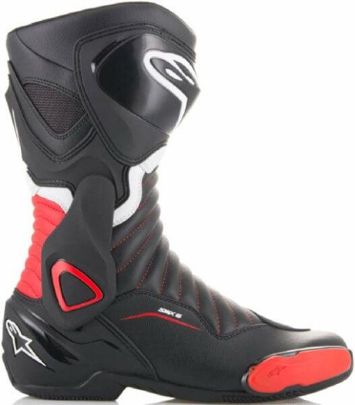 Alpinestars SMX 6 V2 Black Red Riding Boots 2020