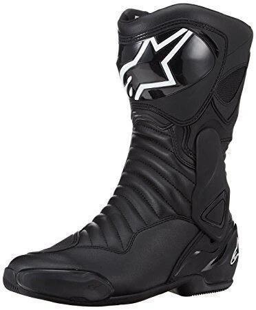 Alpinestars SMX 6 V2 Black White Boots 2020 2