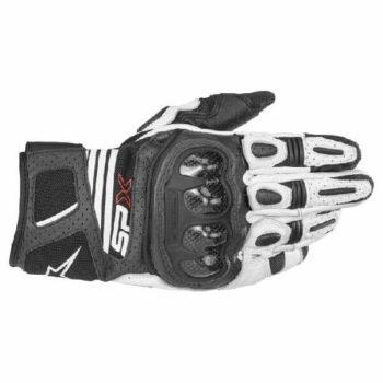 Alpinestars SP X Air Carbon V2 Black White Riding Gloves