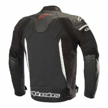 Alpinestars SP X Black White Leather Riding Jacket 2020 1