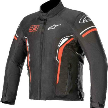 Alpinestars Sepang Black White Red Riding Jacket 1