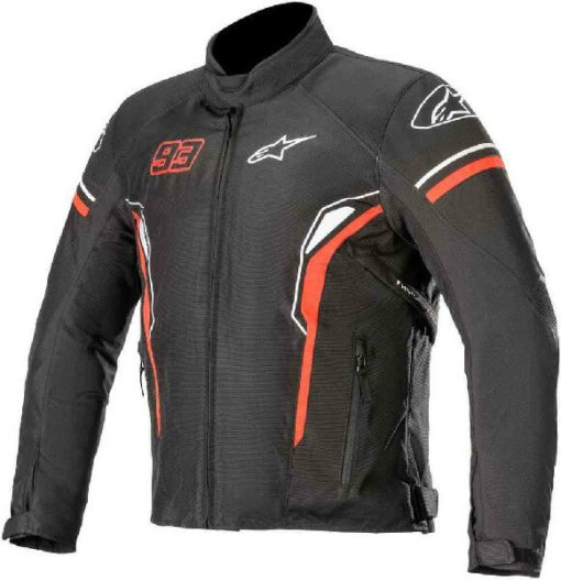 Alpinestars Sepang Black White Red Riding Jacket 1