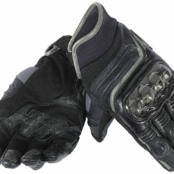 Dainese Carbon D1 Black Short Gloves 1