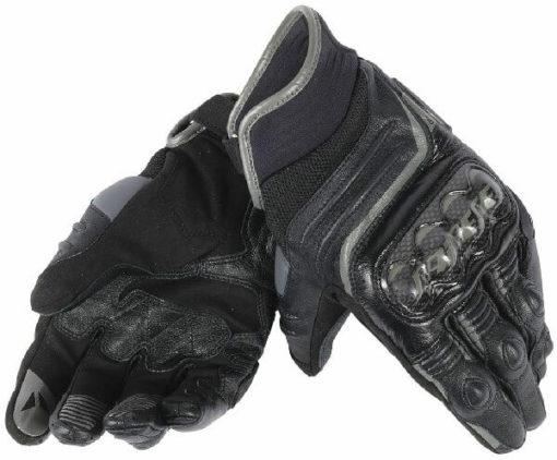 Dainese Carbon D1 Black Short Gloves 1