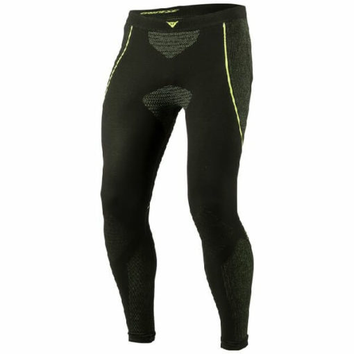 Dainese D Core Dry Black Fluorescent Yellow Riding Pant LL 1